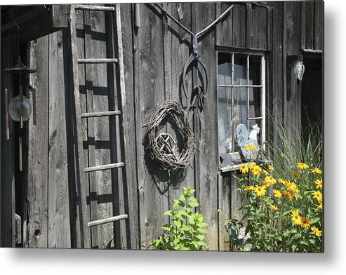 Barn Metal Print featuring the photograph Old Barn II by Margie Wildblood