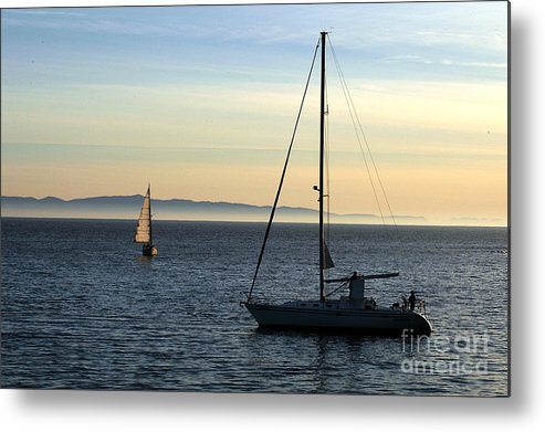 Clay Metal Print featuring the photograph Peaceful Day In Santa Barbara by Clayton Bruster