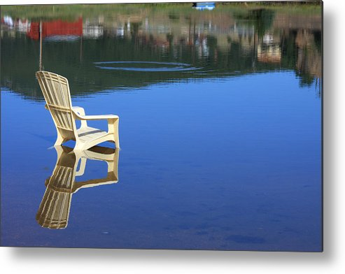 Water Metal Print featuring the photograph Reflections Fine Art Photography Print by James BO Insogna