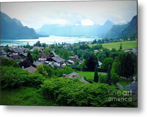 Austria Metal Print featuring the photograph Salzburg Lake District by Carol Groenen