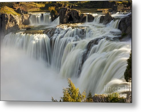 Shoshone Falls Metal Print featuring the photograph Shoshone Falls in Spring by Dennis Hammer