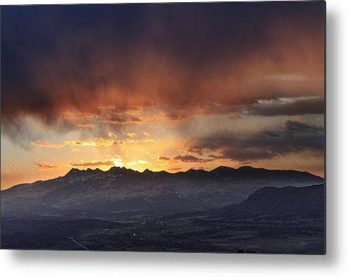 Colorado Metal Print featuring the photograph Southwest Colorado Sunset by John Zeising