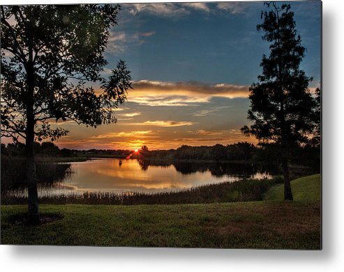 Sunrise Metal Print featuring the photograph Spring Sunrise At Valhalla by Norman Johnson