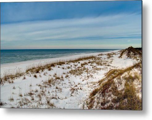 Sand Metal Print featuring the photograph St. Joseph Peninsula Dunes by Rich Leighton