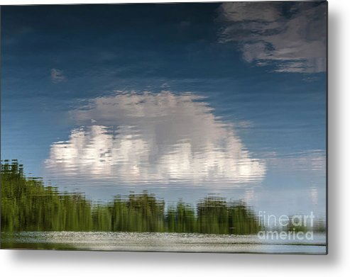 Abstract Metal Print featuring the photograph Thought by Larry Braun
