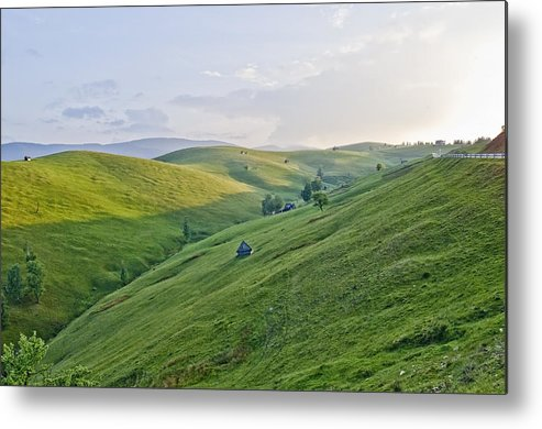 Landscape Metal Print featuring the photograph Valari 2 by Adrian Bud