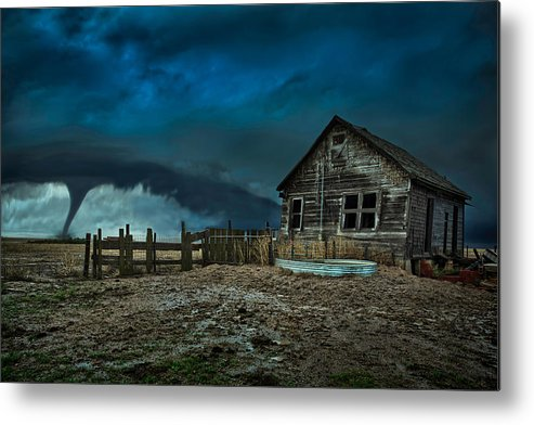 Tornado Metal Print featuring the photograph Wicked by Thomas Zimmerman