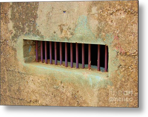 Jail Metal Print featuring the photograph Window to the World by Debbi Granruth