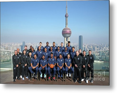 Event Metal Print featuring the photograph 2017 Nba Global Games - China by David Sherman