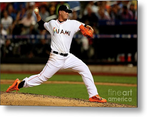 People Metal Print featuring the photograph 84th Mlb All-star Game by Mike Ehrmann