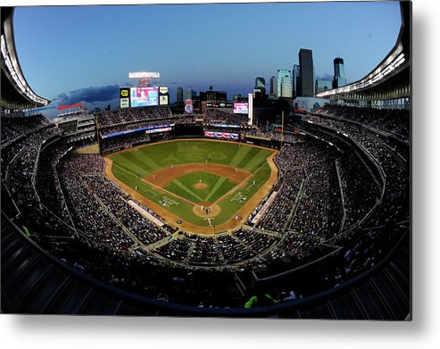 American League Baseball Metal Print featuring the photograph 85th Mlb All Star Game by Hannah Foslien