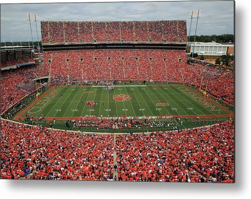 Auburn University Metal Print featuring the photograph Auburn V Clemson by Streeter Lecka