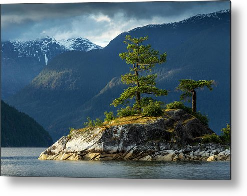 Scenics Metal Print featuring the photograph Desolation Sound, Bc, Canada by Paul Souders