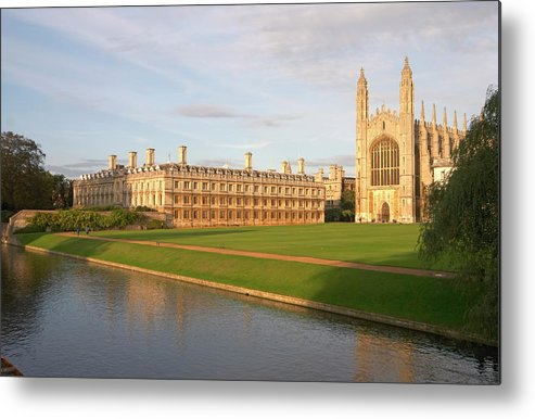 Shadow Metal Print featuring the photograph England, Cambridge, Cambridge by Andrew Holt
