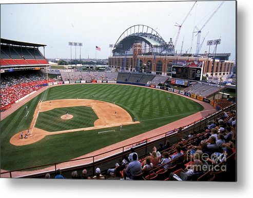 Wisconsin Metal Print featuring the photograph General View by Jonathan Daniel