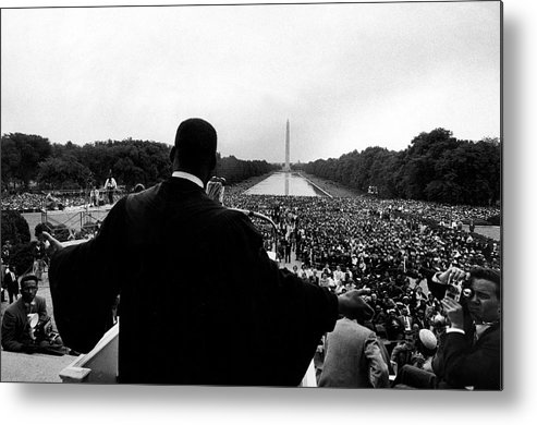 Martin Luther King Jr. Metal Print featuring the photograph Martin Luther King Jr by Paul Schutzer