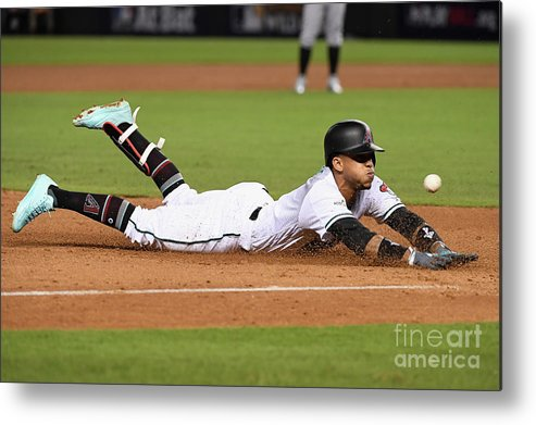 Playoffs Metal Print featuring the photograph National League Wild Card Game - by Norm Hall