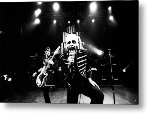 Music Metal Print featuring the photograph Photo Of My Chemical Romance by Stephen Albanese