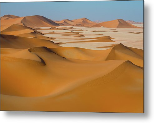 Tranquility Metal Print featuring the photograph Rub Al-khali Empty Quarter by All Rights Reserved For Ahmed Al-shukaili