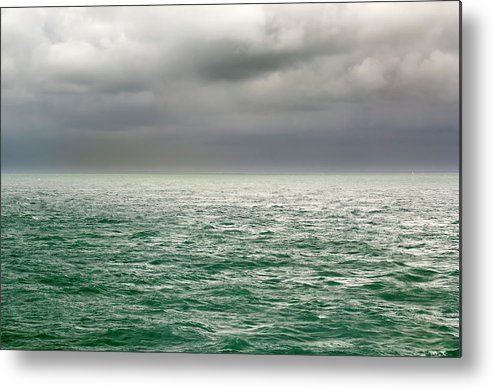 Viewpoint Metal Print featuring the photograph Sea View by Stockcam