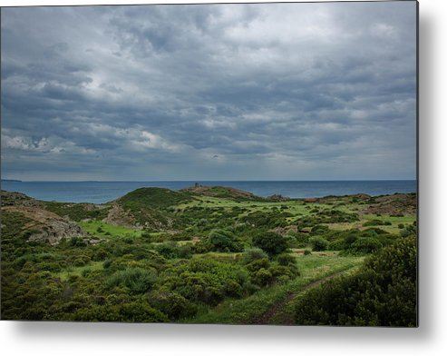 Scenics Metal Print featuring the photograph Torre Argentina Promontory by Maremagnum