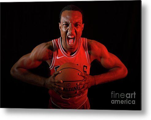 Nba Pro Basketball Metal Print featuring the photograph 2018 Nba Rookie Photo Shoot by Brian Babineau