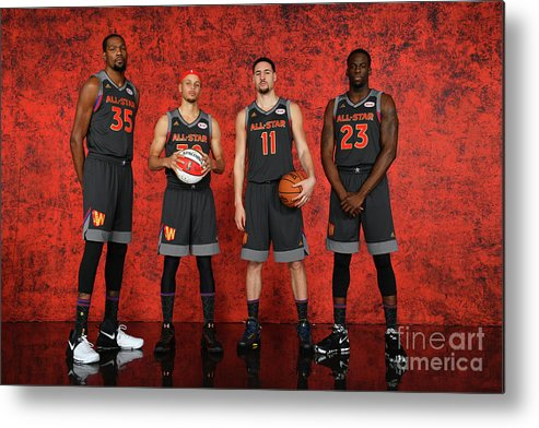 Event Metal Print featuring the photograph Nba All-star Portraits 2017 by Jesse D. Garrabrant