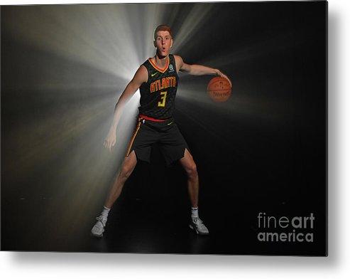 Nba Pro Basketball Metal Print featuring the photograph 2018 Nba Rookie Photo Shoot by Jesse D. Garrabrant