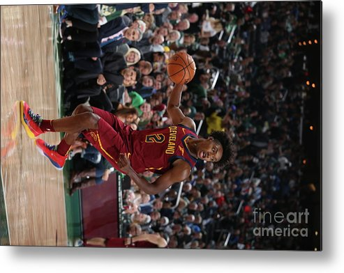 Nba Pro Basketball Metal Print featuring the photograph Cleveland Cavaliers V Milwaukee Bucks by Gary Dineen