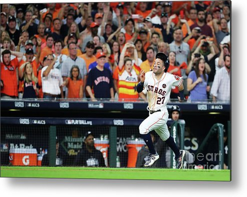 Game Two Metal Print featuring the photograph League Championship Series - New York by Elsa