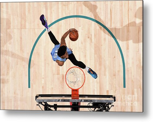 Nba Pro Basketball Metal Print featuring the photograph 2019 Mtn Dew Ice Rising Stars by Andrew D. Bernstein
