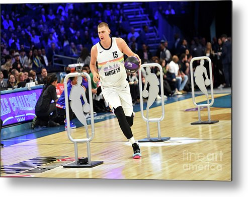Nba Pro Basketball Metal Print featuring the photograph 2019 Taco Bell Skills Challenge by Jesse D. Garrabrant