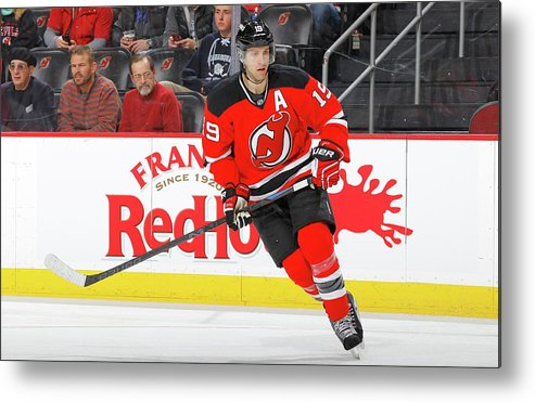 People Metal Print featuring the photograph Buffalo Sabres V New Jersey Devils by Jim Mcisaac