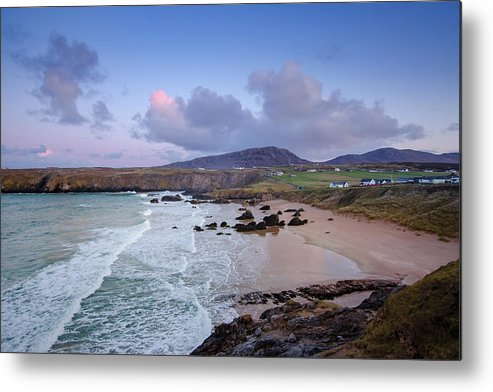 Durness Metal Print featuring the mixed media Durness by Smart Aviation