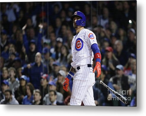 Second Inning Metal Print featuring the photograph League Championship Series - Los by Jonathan Daniel