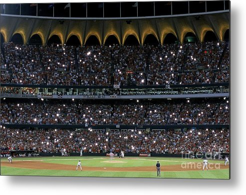 Season Metal Print featuring the photograph Mark Mcgwire 25 by Vincent Laforet