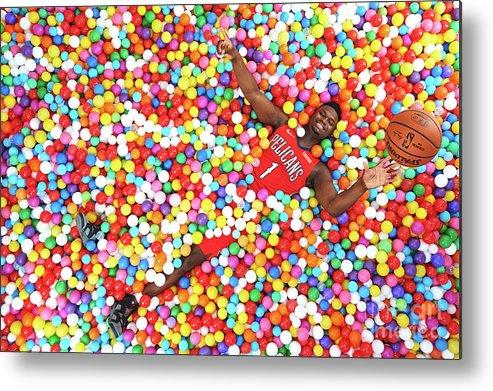Nba Pro Basketball Metal Print featuring the photograph 2019 Nba Rookie Photo Shoot by Jennifer Pottheiser