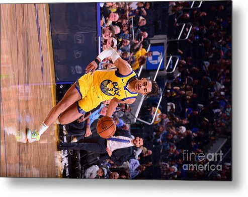 San Francisco Metal Print featuring the photograph Charlotte Hornets V Golden State by Noah Graham