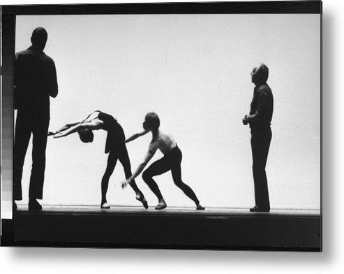 Timeincown Metal Print featuring the photograph George Balanchine by Gjon Mili