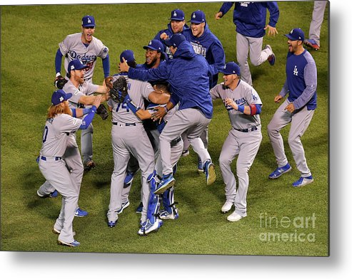 Championship Metal Print featuring the photograph League Championship Series - Los by Dylan Buell