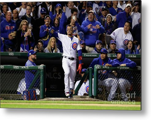Championship Metal Print featuring the photograph League Championship Series - Los by Jamie Squire