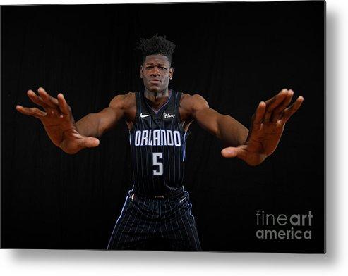 Nba Pro Basketball Metal Print featuring the photograph 2018 Nba Rookie Photo Shoot by Brian Babineau
