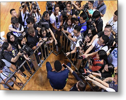 Event Metal Print featuring the photograph 2017 Nba Global Games - China by David Dow
