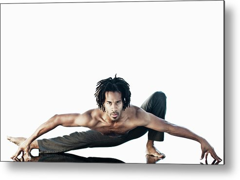 Torso Metal Print featuring the photograph Dance Studio by Patrik Giardino