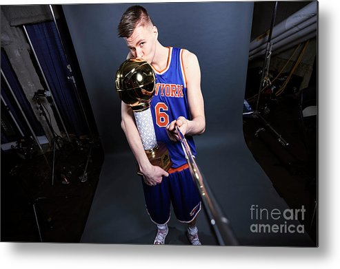 Event Metal Print featuring the photograph Nba All-star Portraits 2017 by Jennifer Pottheiser