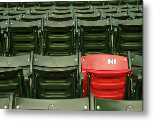 Playoffs Metal Print featuring the photograph World Series - St Louis Cardinals V by Elsa