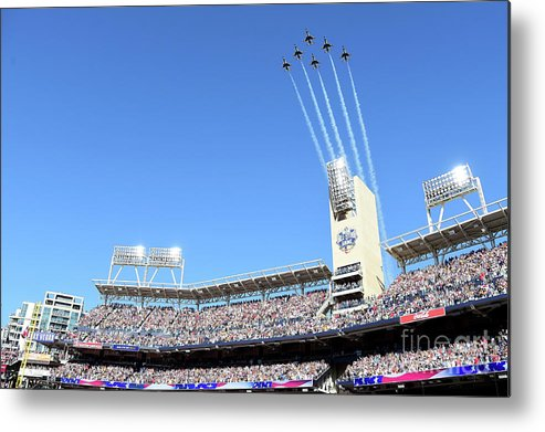 American League Baseball Metal Print featuring the photograph 87th Mlb All-star Game by Harry How