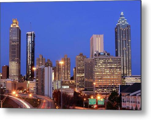 Atlanta Metal Print featuring the photograph Atlanta, Georgia by Jumper