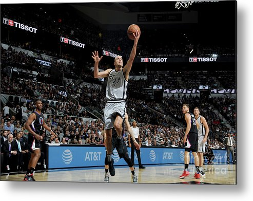Nba Pro Basketball Metal Print featuring the photograph La Clippers V San Antonio Spurs by Mark Sobhani
