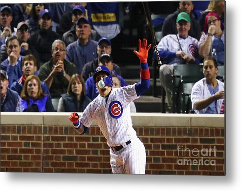 Three Quarter Length Metal Print featuring the photograph League Championship Series - Los by Stacy Revere